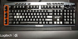 Mint Condition Logitech G710+ Mechanical Gaming Keyboard