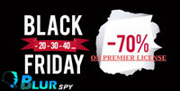BlurSpy 70% dissount Black Friday offer on cell phone spy