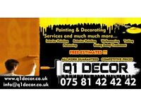 Painter decorator/ Painting and decorating