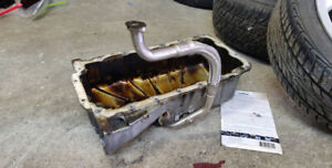 VW MK4 1.8T Golf Jetta Oil pan with turbo drain