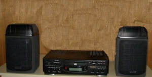 Mini Office Stereo with CD and remote Big sound in small system