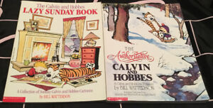 Calvin and Hoobes Treasury + Collection Comic strips
