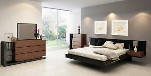 Modern Style Queen Size Bedroom Set