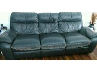 Leather Sofa 3 Seater 2 Seater
