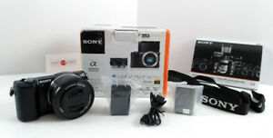 Sony Alpha a5000 Mirrorless Digital Camera + RECEIPT + DELIVERY