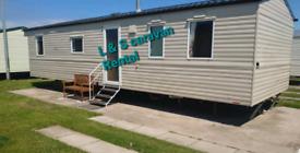 2 bedroom 6 birth caravan to rent on Lyons Robin Hood in Rhyl