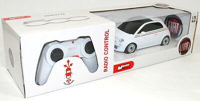 Fiat 500 Remote Control Car White 1/24 scale 50906728