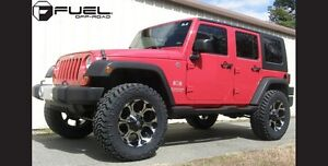 FUEL RIMS AND TIRES FOR FINANCING ON JEEP WRANGLERS Kawartha Lakes Peterborough Area image 2