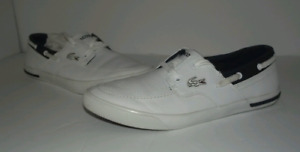 1 - Lacoste Shoes White Size 8