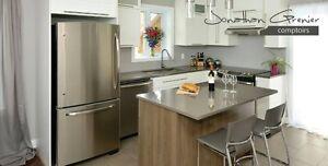 Comptoirs Granit / Quartz , remplacement de comptoir cuisine Saguenay Saguenay-Lac-Saint-Jean image 5