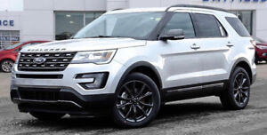 2017 Ford Explorer XLT Appearance Package SUV, Crossover