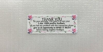 Thank You For Your Purchase Stickers 30pcs Design1-free Us Shipping