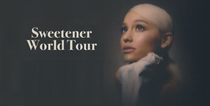 CHRISTMAS GIFT★★Ariana Grande Centre Bell ★★MON Apr 1 7:30PM