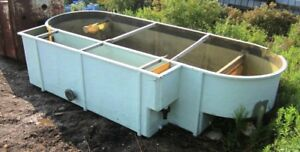 Used Fiberglass Tank with Baffles