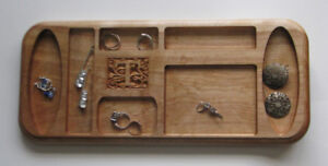 Personalised Wood Jewellery Trays