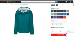 The North Face Women's Venture 2 Shell 2.5L Jacket $65