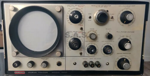 RARE VINTAGE FAIRCHILD 6200 SOLID-STATE CURVE TRACER - MASSIVE+NICE+CLEAN!