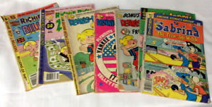 vintage COMIC BOOK collection RITCHIE RICH and DENNIS the MENACE