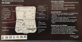 Panasonic VHS Movie VW-SHM7 Camera And Case