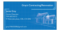 Gray's Contracting/Renovation