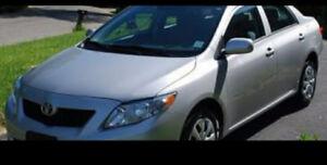 Toyota Corolla  2009.power window.New shape.etested.low km.5500