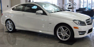 2012 Mercedes-Benz C250 Coupe Panorama Roof