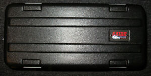 Gator 4 space shallow rack case
