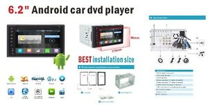 UNIVERSAL ANDROID DDIN NAVIGATION GPS  Backup CAMERA DVR