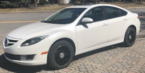 Excellent Mazda 6   winter and summer tires   alloy rims