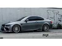 "NEW 20"" BMW NICHE TURBINE ALLOY WHEELS STAGGERED FITMENT ( M3/M4/M5 X5 etc)"