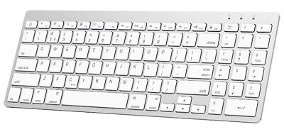 OMOTON Ultra-Slim Wireless Bluetooth Keyboard Compatible With Apple Products