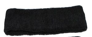 Head Band Sports Gym Sweatbands Headband Terry Cloth Wristband Sweat Sweatband