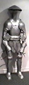 full wearable suit of armour or static halloween prop Peterborough Peterborough Area image 3