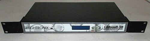 LEIGHTRONIX LABvault SD MPEG2 Network Recorder / Player