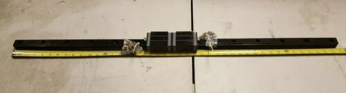 Used NSK SH301080AND2J02P61 Linear Guide Rails - W/2  Bearing Blocks 78-005 KL