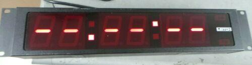 LEITCH DTD-5220  DIGITAL CLOCK
