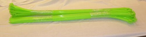 "Releasable Panduit 250 lb 28"" Heavy Duty UV Resistant Nylon Cable Zip Ties-100pc"