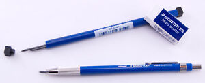 Staedtler Mars Technico 780 2mm Lead Holder Pencil 2 mm with Bonus Lead & Eraser