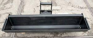 Baggerschaufel, Humusschaufel, für Radlader, Minibagger schwenkbar MS03 1200mm