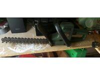 Black Decker hedge trimmer
