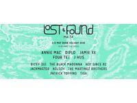 Lost & Found Tickets 2018 X2