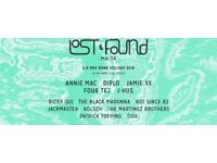 Lost and Found Tickets 2018 X 2