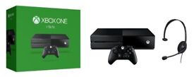 Xbox One 1TB Console bundled with Controller, Headset and Rocket League Game