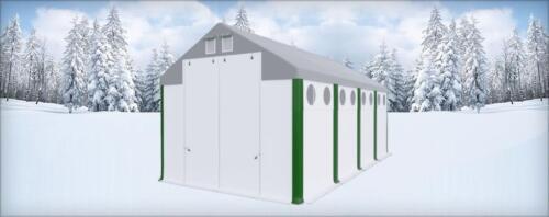 ganzjhriges lagerzelt 6x10x25 garage mehr licht carport gratis in witten