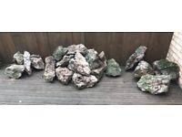 Garden rockery stones - various shapes & sizes