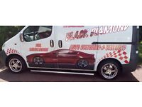 Mobile VALETING and detailing van / business for sale