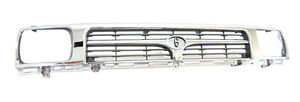 NEW TOYOTA HILUX RN85 89-97 2WD GRILLE CHROME & GRAY