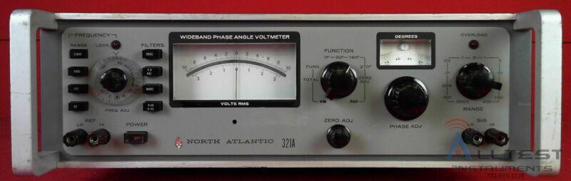 North Atlantic 321A Wideband Phase Angle Voltmeter