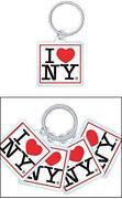 I Love NY Keychain