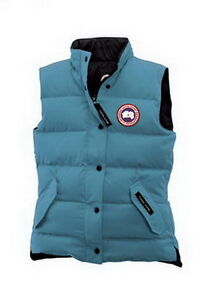 Women Canada Goose Freestyle Vest Blue Topaz